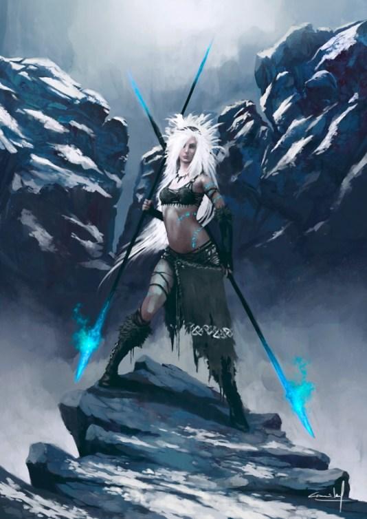 Winter Lady Daniel Comerci