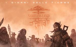 La Cover di un'espansione per Namless Land, opera di Biagio D'Alessandro