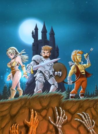 Darkmoor, Cover, Artwork di Davide Quaroni