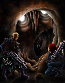 Raiders, artwork di Marco Alfaroli