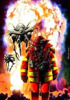 The War of Stein, artwork di Marco Alfaroli