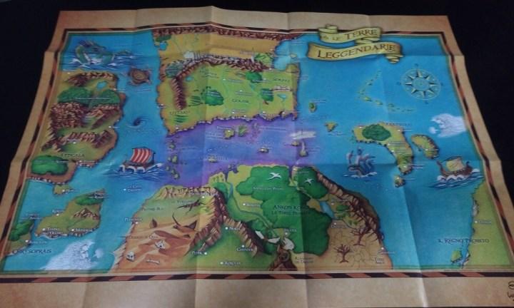 Terre Leggendarie Mappa