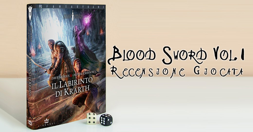 Blood Sword I Labirinti di Krarth Cover