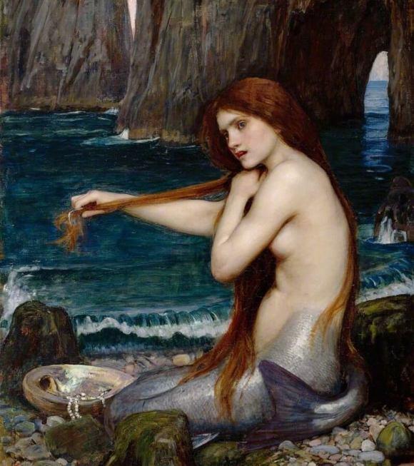 Sirena seducente come Trollbabe