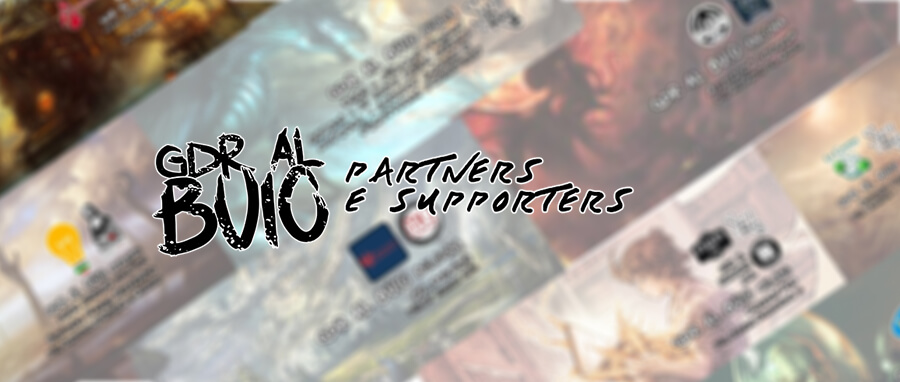 GDR al Buio Partners e Supporters Cover
