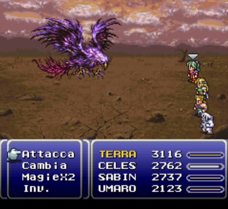 Il party di Final Fantasy VI
