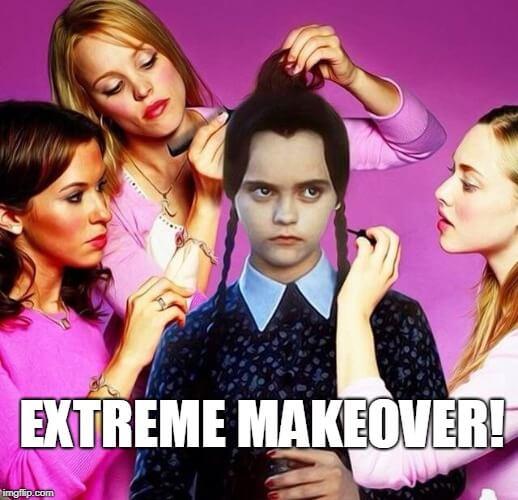 quickstarter extreme makeover