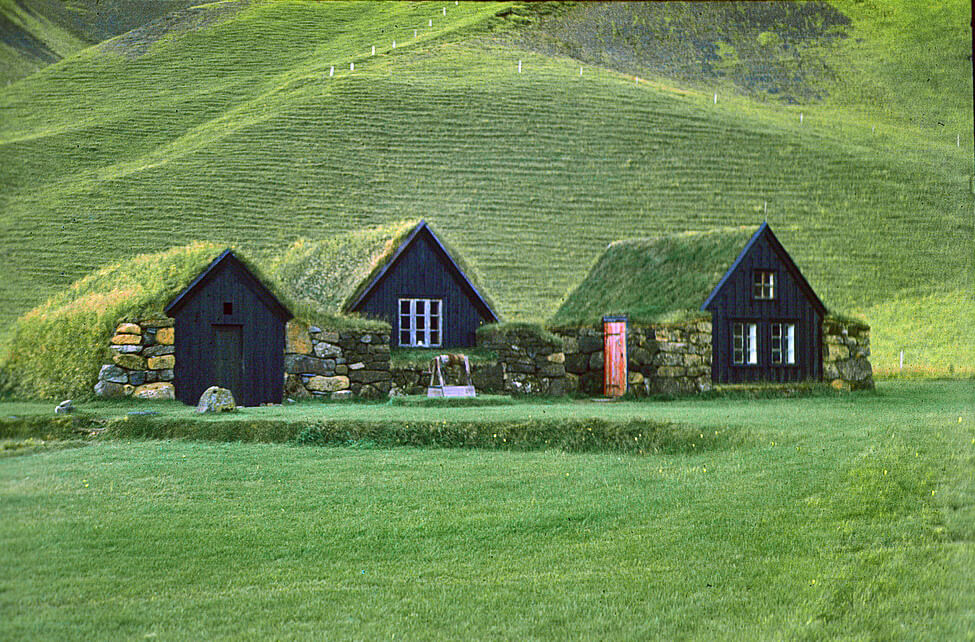 Case tradizionali islandesi