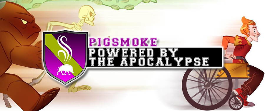 Sistema Pigsmoke Storie di Ruolo Space Orange 42 Gioco di Ruolo Powered by the Apocalypse