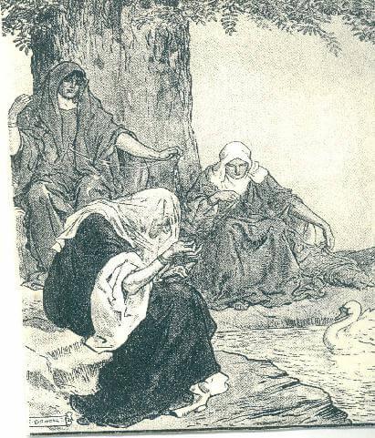 Le tre Norne norrene