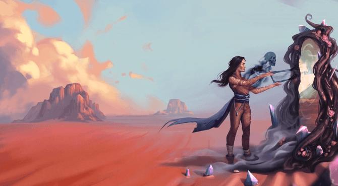 Afterlife Wandering Souls Kickstarter Promo Elizabeth Chaitpraditkul Storie di Ruolo Lorena Lammer