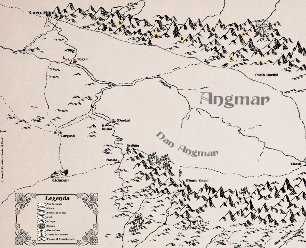 Mappa Angmar Storie di Ruolo Finale Avventura Free RPG Day
