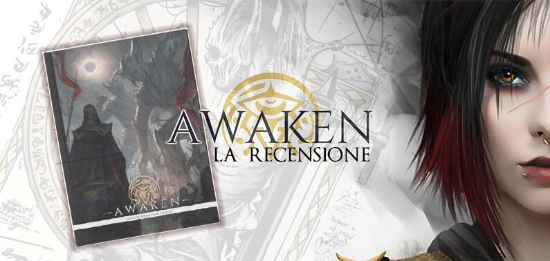 Awaken La Recensione Storie di Ruolo Isola Illyon Gioco di Ruolo Copertina (1)