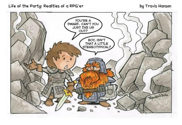 RPG Party Travis Hanson