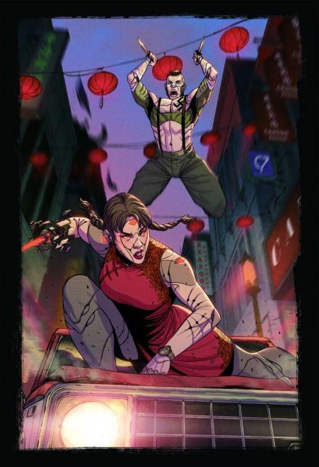 Sigmata Artwork MS Edizioni Storie di Ruolo Recensione Combattimento Cyborg