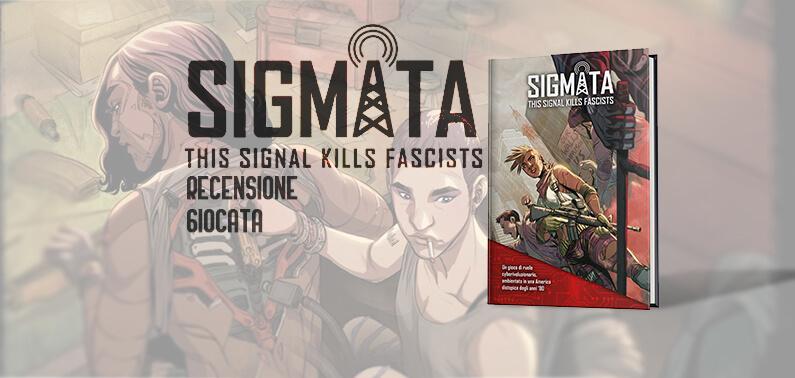 Sigmata Cover Storie di Ruolo Recensione Giocata MS Edizioni