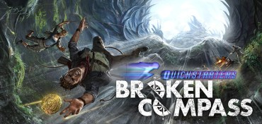 Broken Compass Quickstarter Raven Distribution Two Little Mice Storie di Ruolo Recensione