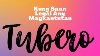 Kung Saan Legal Magkantutan: Tubero