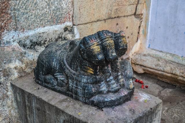 3-headed Nandi | Virupaksha Temple of Hampi | Stories by Soumya