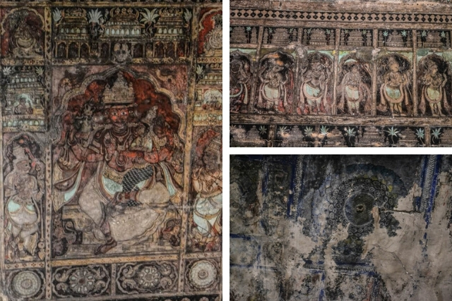 Murals | Virupaksha Temple of Hampi | Stories by Soumya