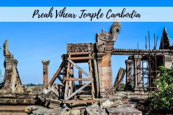 The Temple of Preah Vihear, Cambodia – Not At War Anymore!
