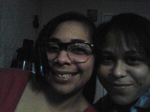 Inspiring sister Inspiring sister Amarilis Burgos,  right, and Nancy Hernandez