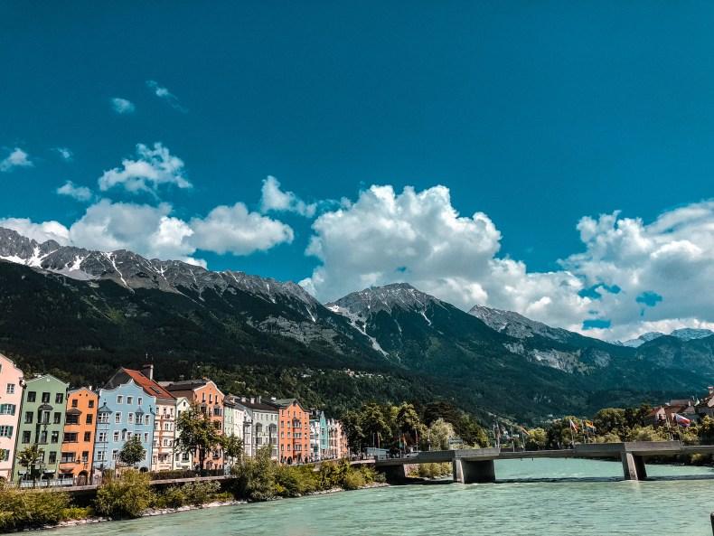 Innsbruck in den Alpen