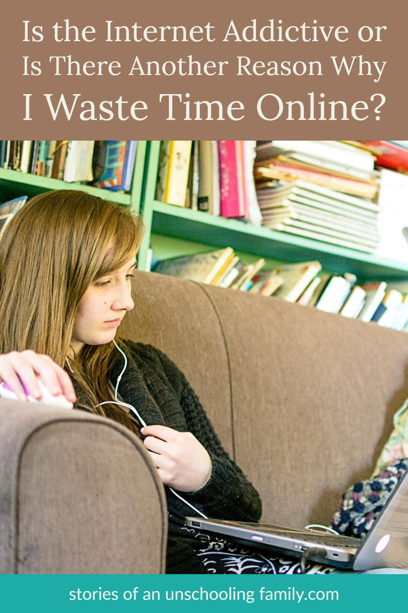 Is the Internet Addictive or is There Another Reason Why I Waste Time Online?
