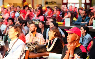 Fans of Belgium's Red Devils watch win over Hungary in EUFA Euro 2016