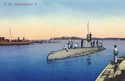 Postcard of the SM U-5