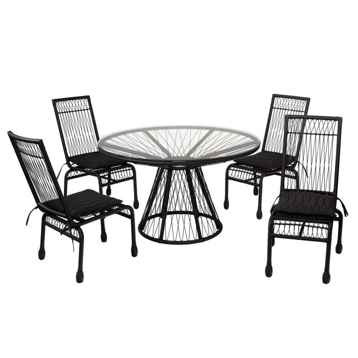 memoir 5 piece outdoor dining set