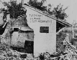 Prima Guerra Mondiale - O il Piave o tutti accoppati