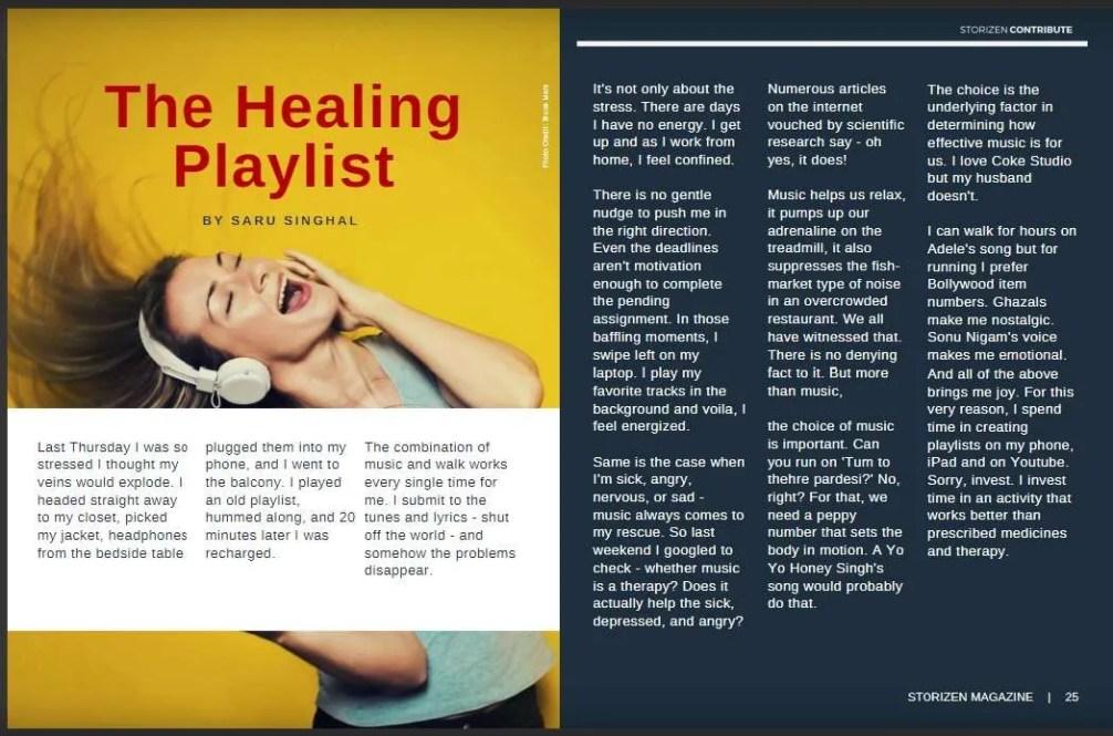 the-healing-playliist-by-saru-singhal-storizen-magazine-April-2018