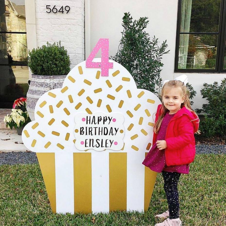 Front Yard Birthday Signs San Antonio