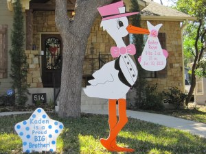 Merced, CA Stork Sign Rentals ~ Chowchilla, CA ~ Start Your