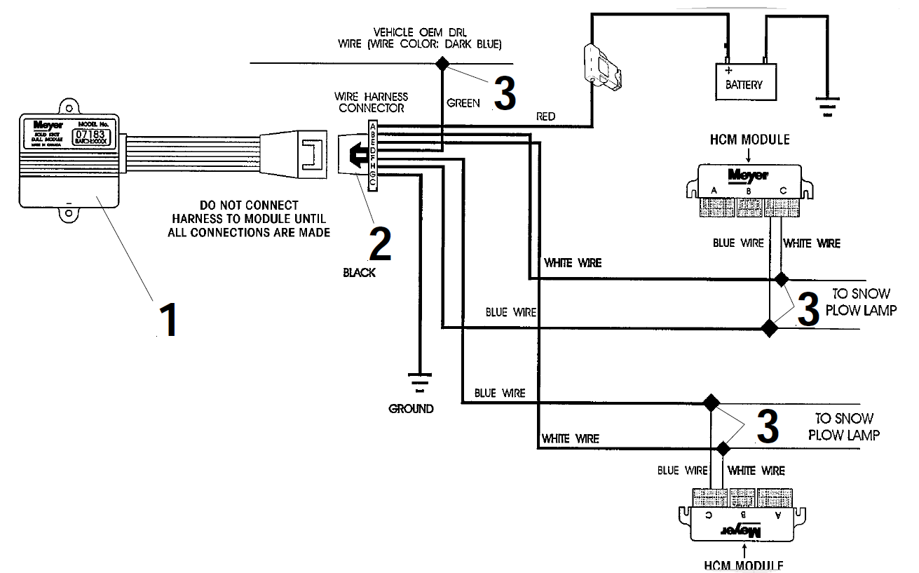 Western Plow Wiring Diagram Ford
