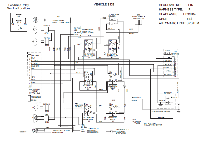 Hiniker Wiring Diagram Manual. Western Snowplow Headlight Wiring Diagram Schematics And Blizzard Plow Harness Unverferth. Ford. Blizzard Plow Wiring Diagram Ford At Scoala.co