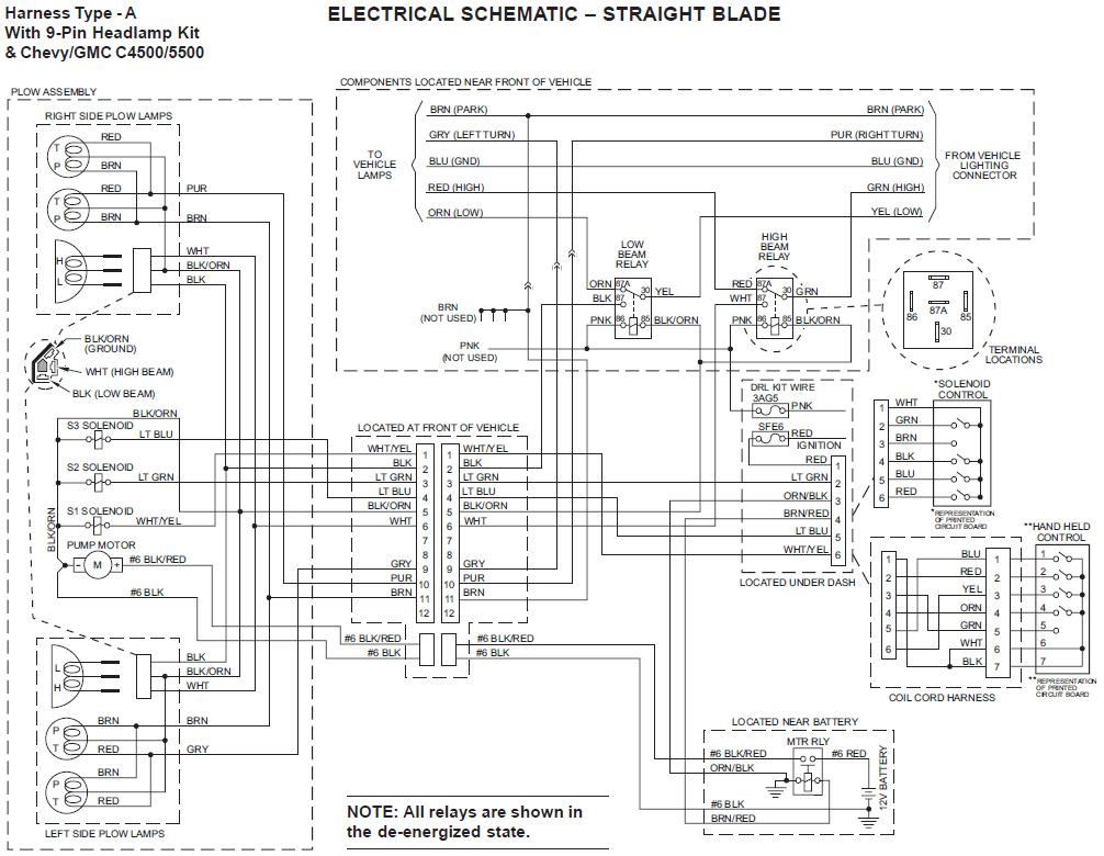 Wiring Diagram Fisher Snow Plow