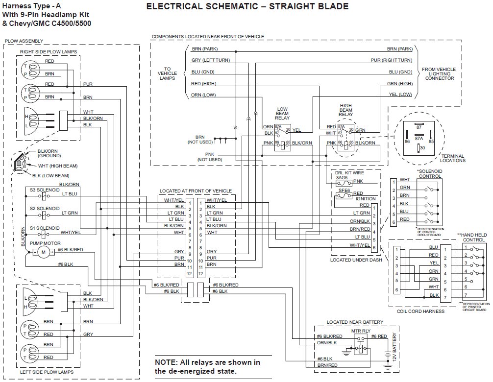 641251?resize=665%2C516 fisher minute mount 2 light wiring diagram wiringdiagrams Fisher Plow Installation Wiring at bayanpartner.co