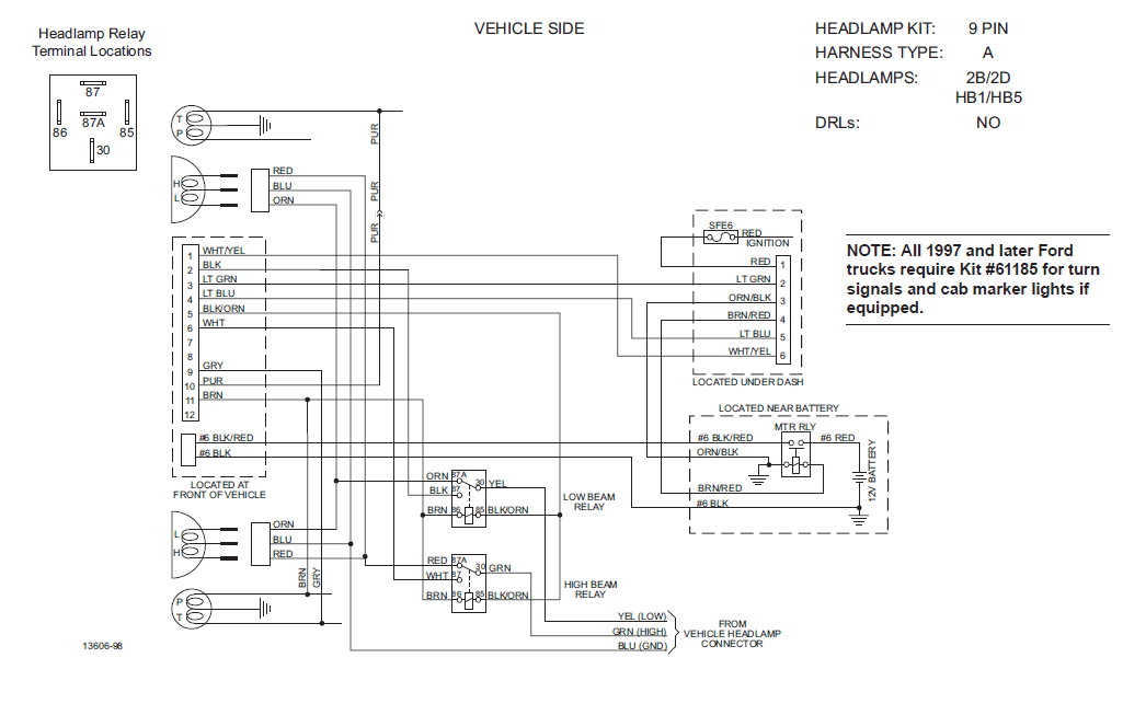 61591?resize=665%2C417 fisher minute mount 2 light wiring diagram the best wiring fisher plow wiring schematic at crackthecode.co