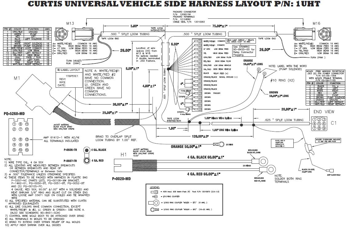 Western Plow Wiring Diagram Ultra Mount Efcaviationcom Curtis Truck Side Harness Western Plow Wiring Diagram Ultra
