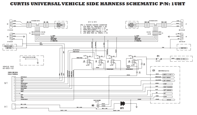 arctic snow plows wiring diagrams 2004 4 3l chevy engine
