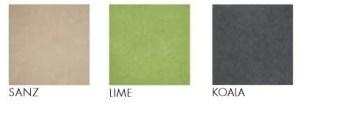 Modulo Colour Chart