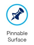 pinnable surface
