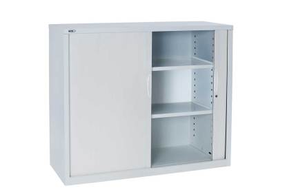tambour door cabinet open