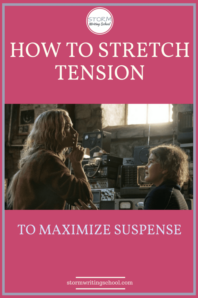 Great tips here for maximizing suspense. Stretching tension means you lengthen the scene but also make it more gripping.
