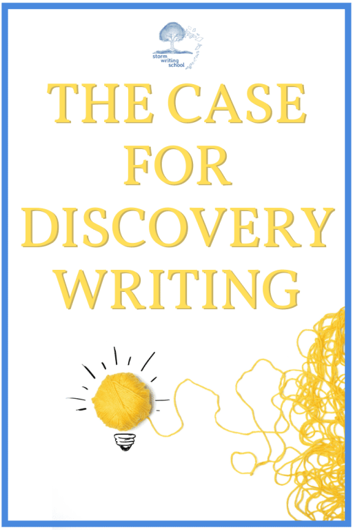 Learn the rationale for foregoing an outline and discovery writing instead.