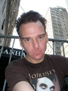 Adam in NYC, 2007