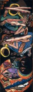"""""""The Tempest"""", painting by Max Beckmann, 1947-49"""