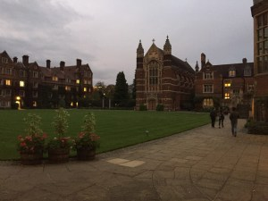 The chapel at Selwyn College, Cambridge